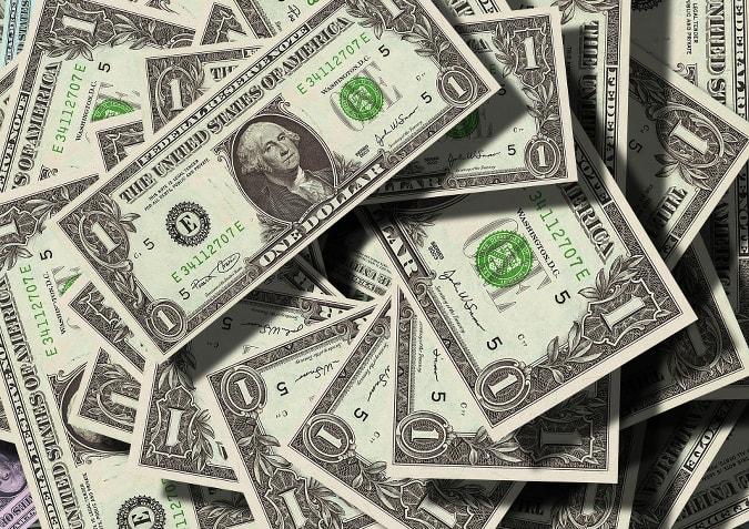 Dollars Representing Low HVAC Cost
