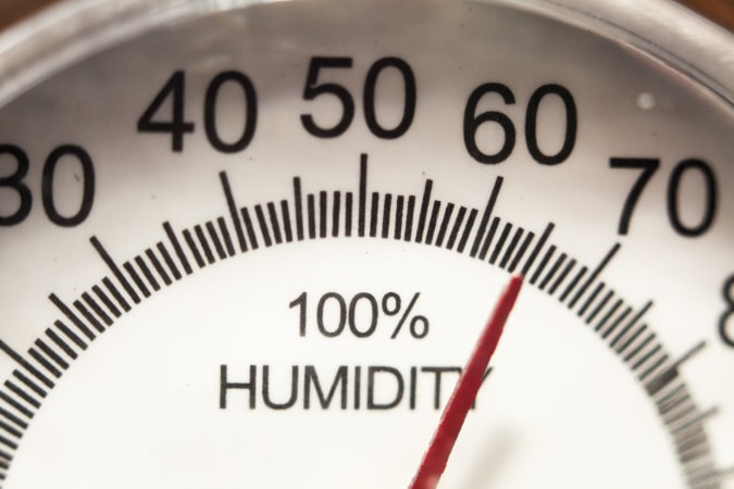 Hygrometer Measuring Humidity
