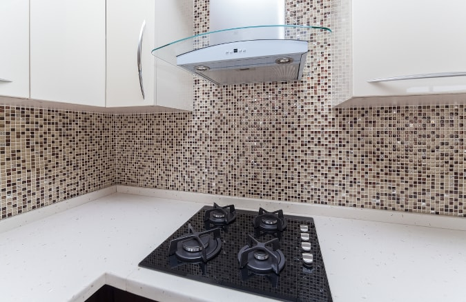 Range Hood in Kitchen