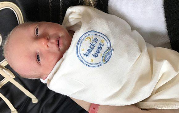 Sleep sack helps protect sleeping infants