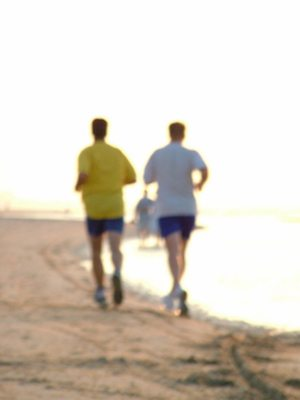 Music and exercise go together like the sea and sand