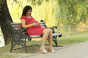 Vein problems such as varicose veins often ensue as a result of pregnancy.