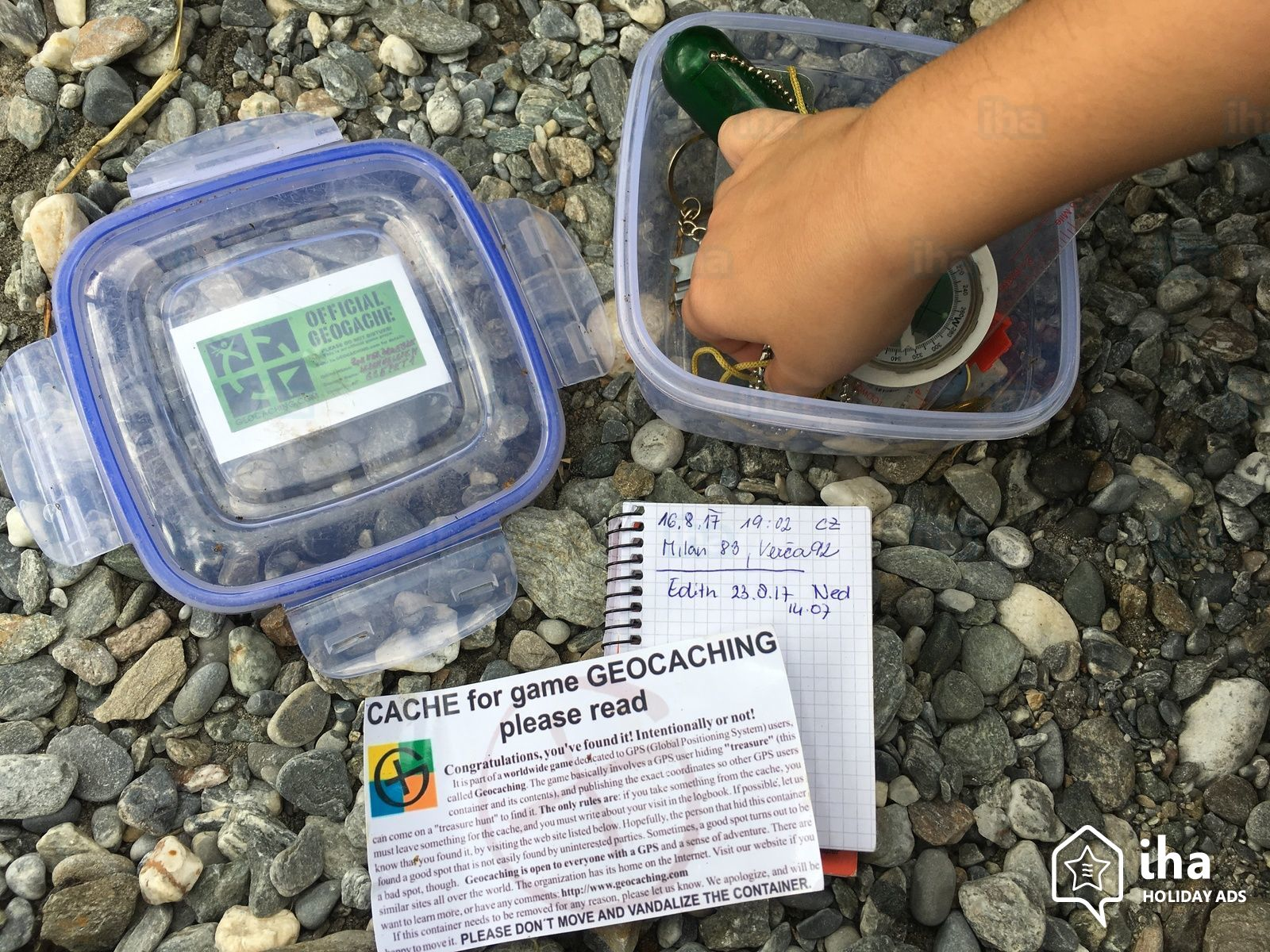 National Scavenger Hunt Day: Geocaching
