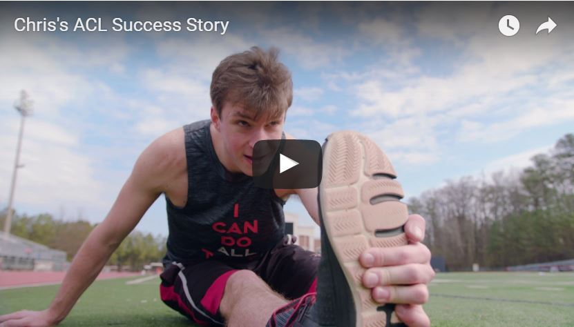 Video of Chris's ACL Success Story