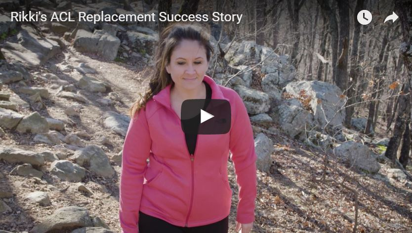 Video of Rikki's ACL Replacement Success Story