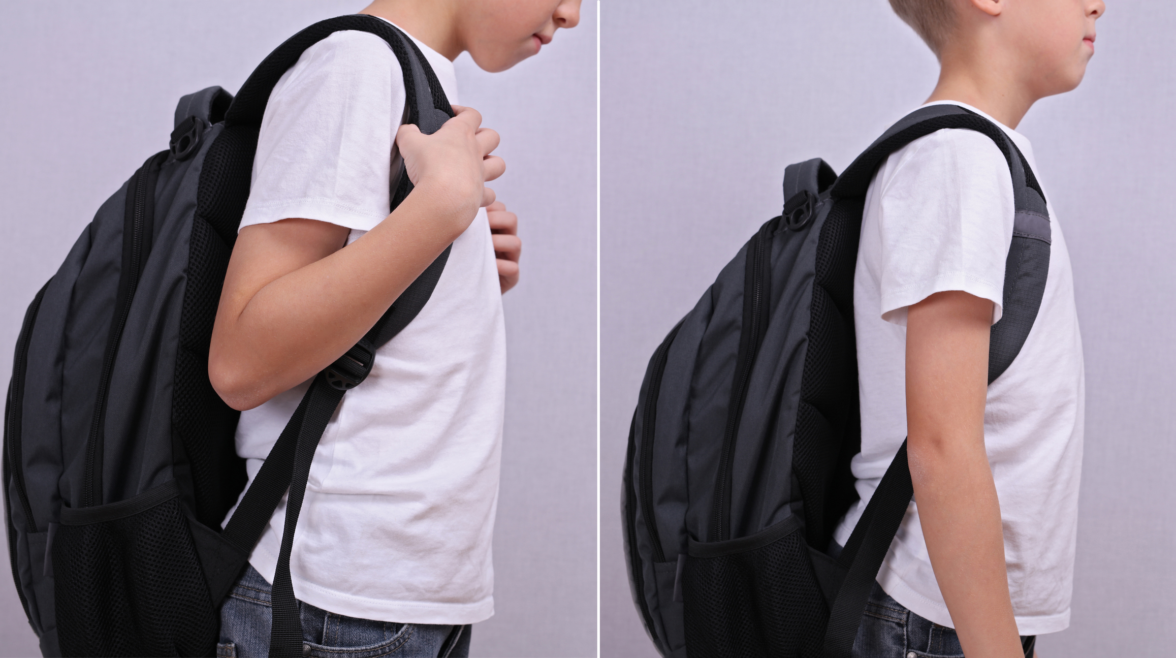 School backpack and spine health
