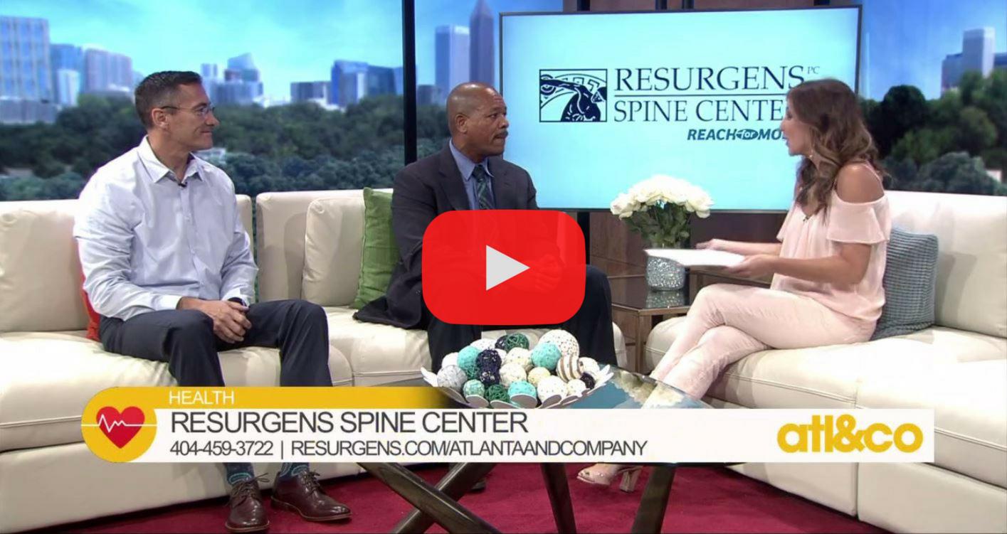 Video of Resurgens Spine Center on talk show