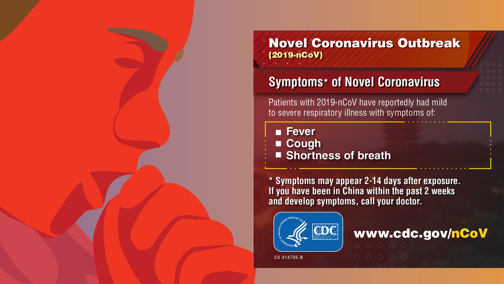 infographic from the cdc on the corona virus