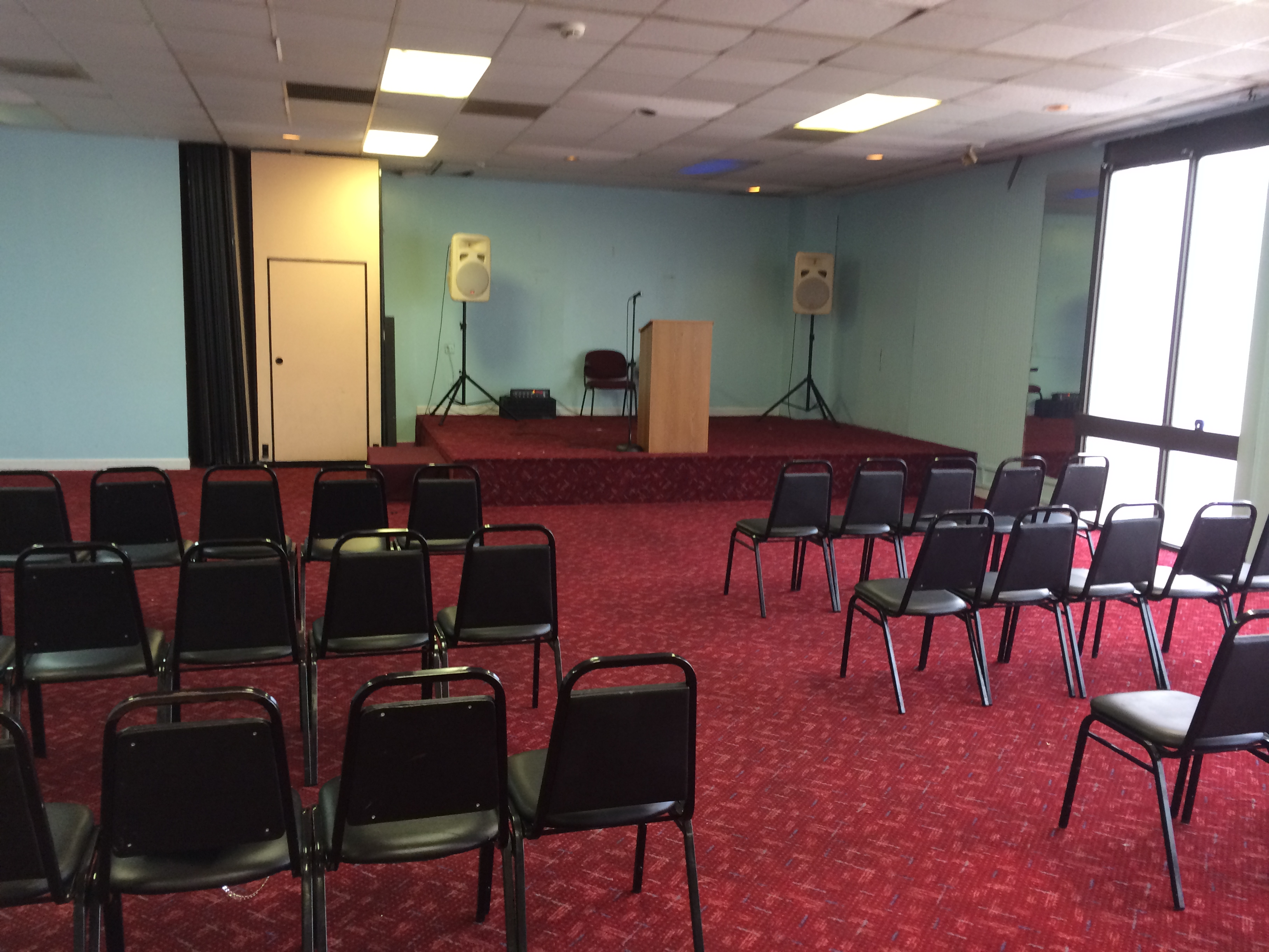 Our Newly Established Decatur Event Space at A2B Budget Hotel!