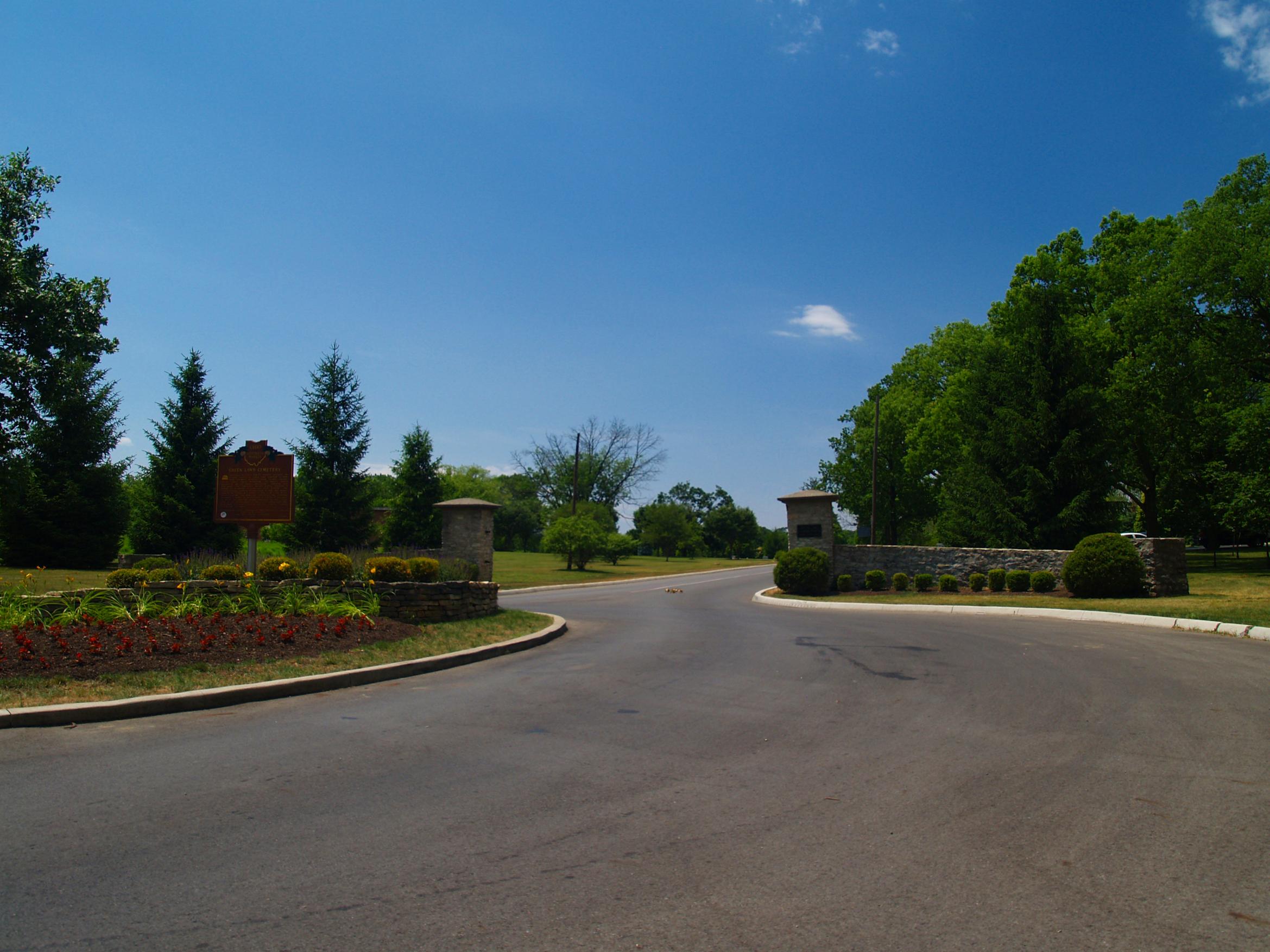 Green Lawn Cemetery Ohio