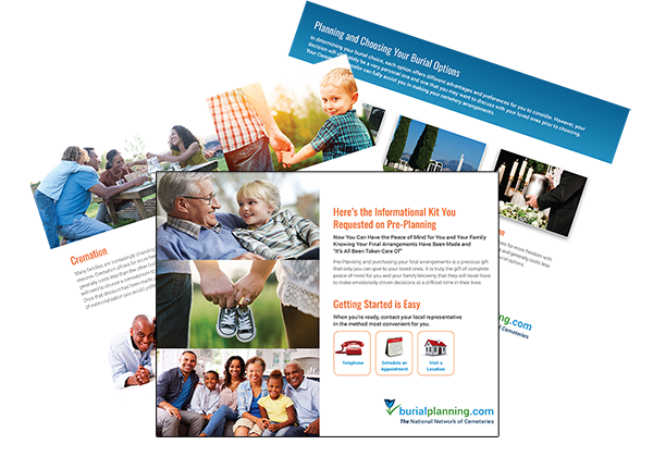 Download a free digital burial information guide