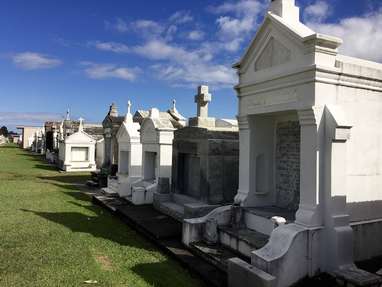 New Orleans mausoleum