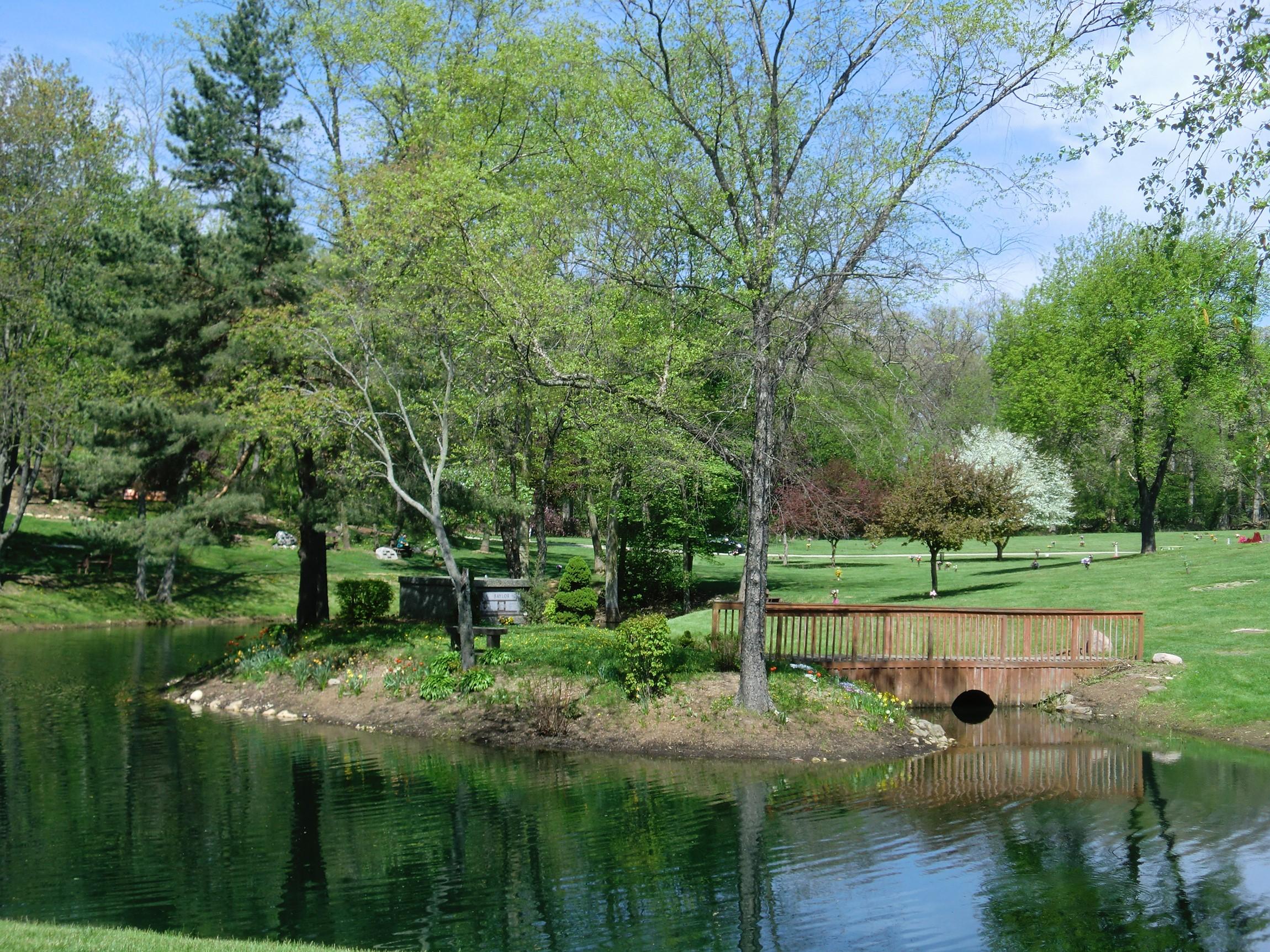 Windridge Memorial Park cemetery in illinois