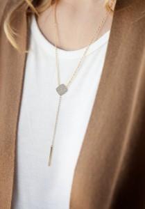 Lariat Necklace - TARA