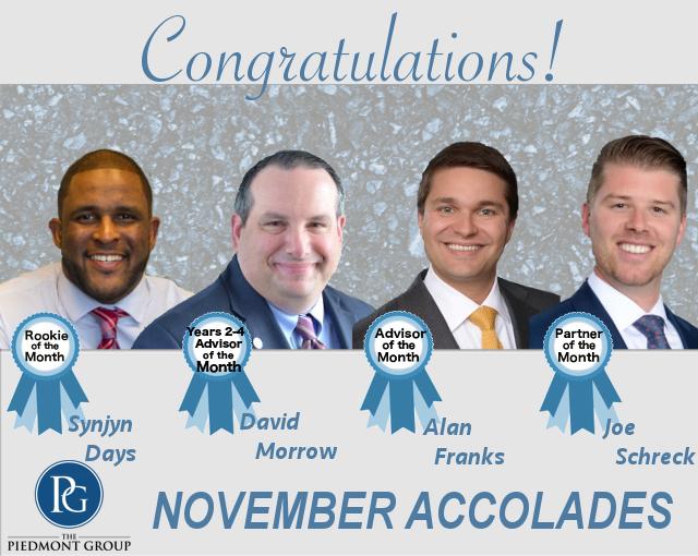 2018 November Accolades