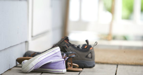 7abb226aa2 Is It Bad to Wear Shoes Inside the House? | Zerorez Puget Sound