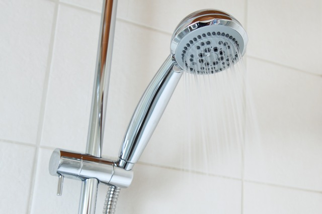 get crud out of your showerhead