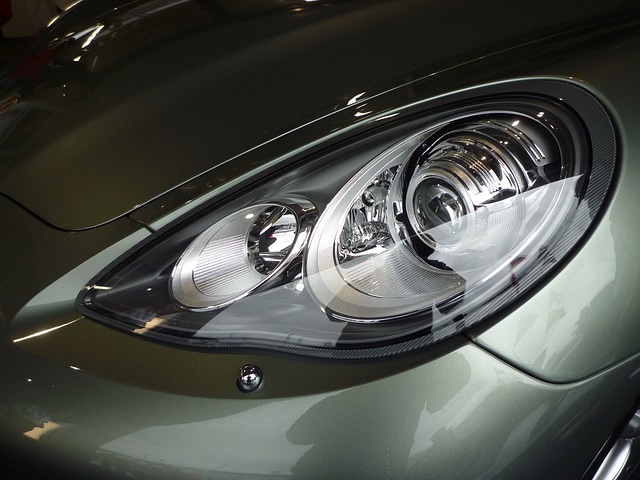 clean car headlights