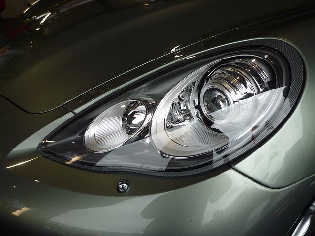 clean car headlights